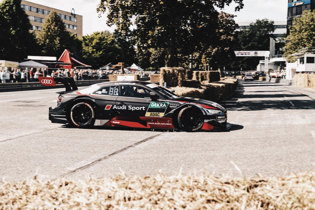 Stadtpark Revival mit Audi Tradition